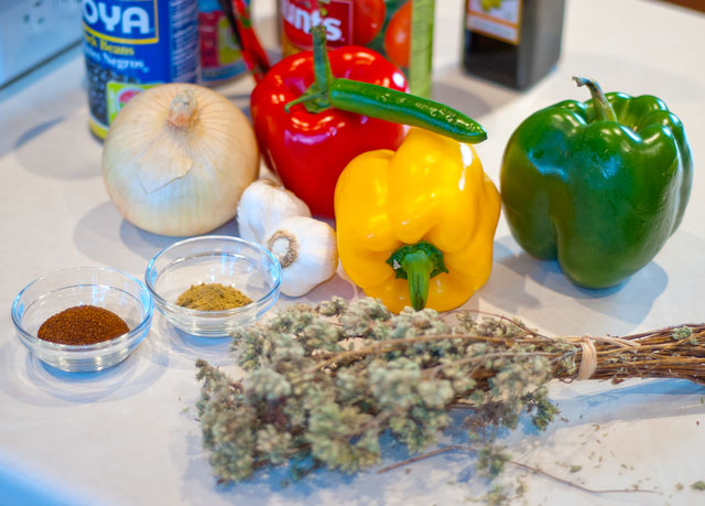 chili recipe ingredients