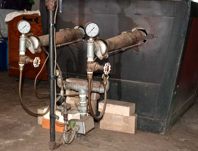 Secondary boiler