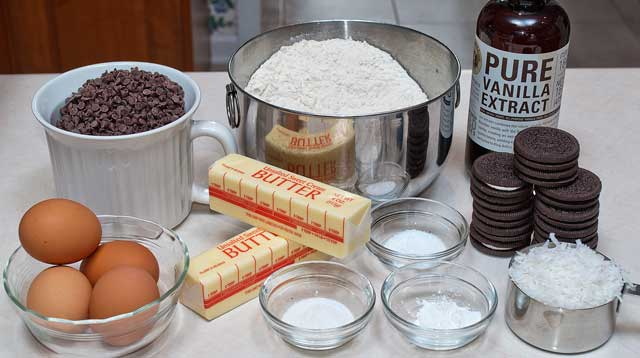 Bundt cake ingredients