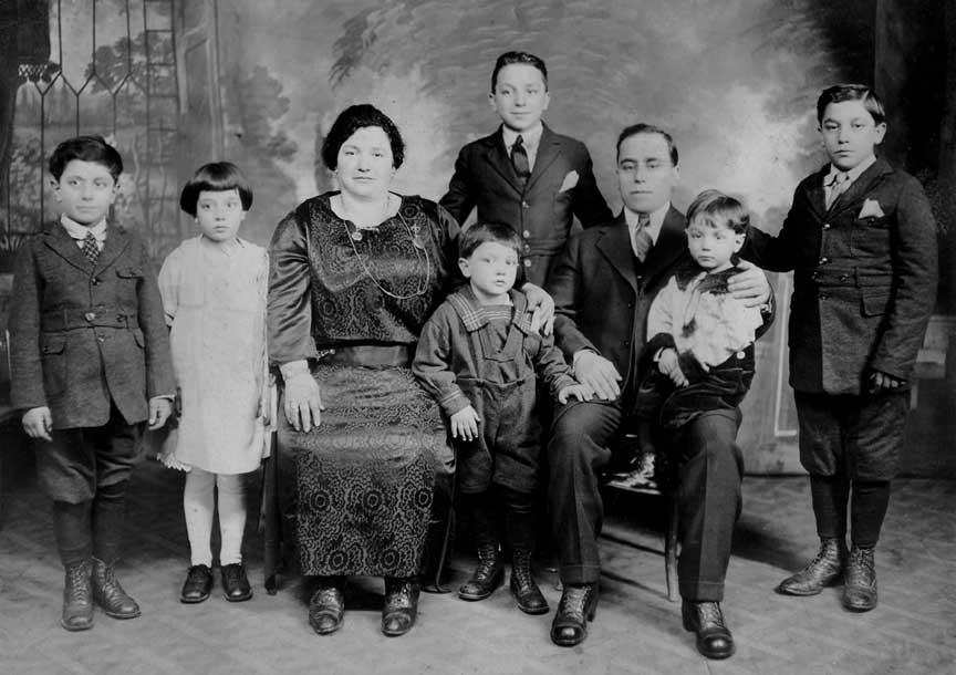 Rio family in 1924