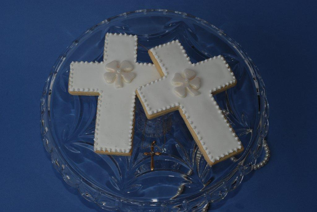 cross cookies