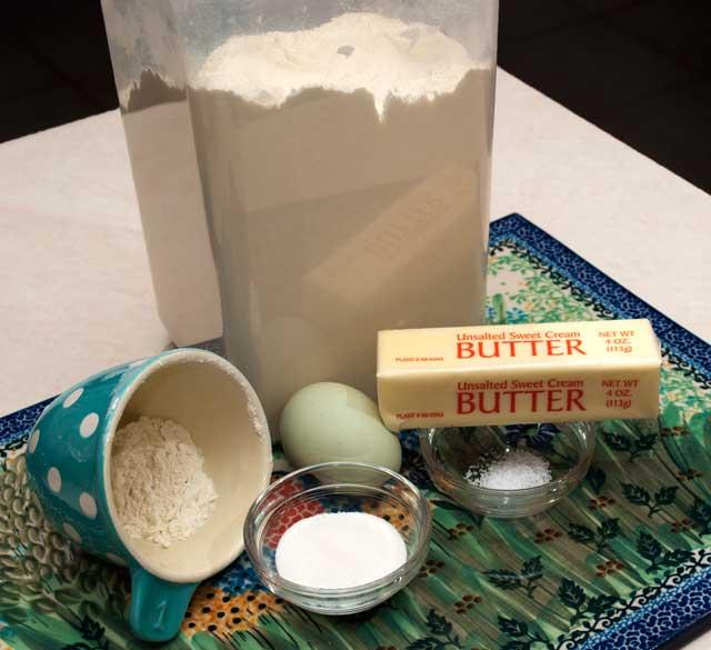 Tart shell ingredients