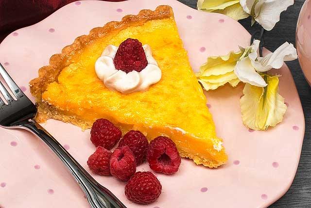 The Chef's Favorite Lemon Tart