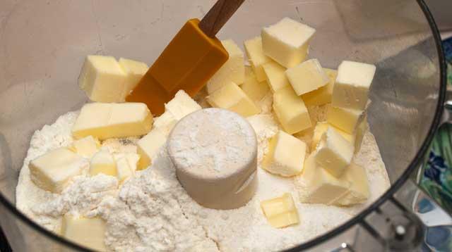 Pulsing in butter