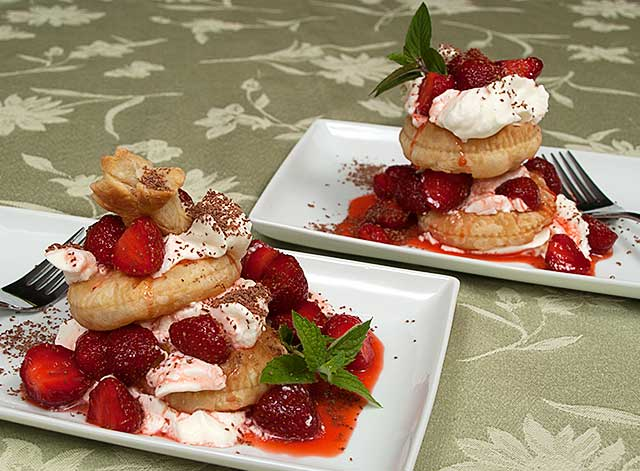 Italian Style Strawberry Shortcake