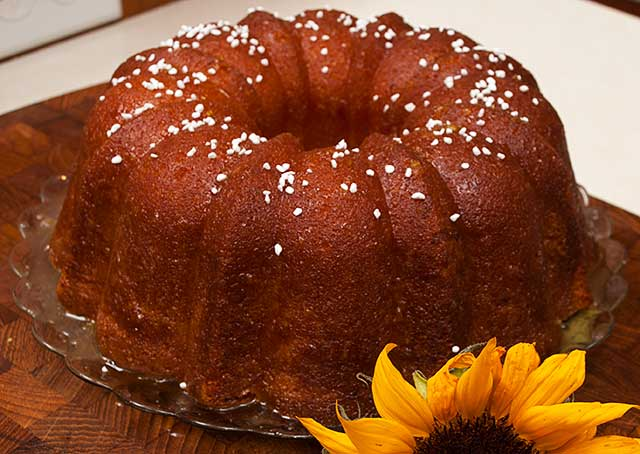 Lemon Pound Bundt Cake with Lemon Glaze