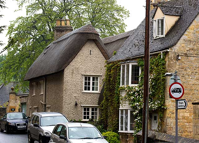 Stone houses in Chipping Campden, England