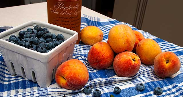 peach blueberry pie recipe
