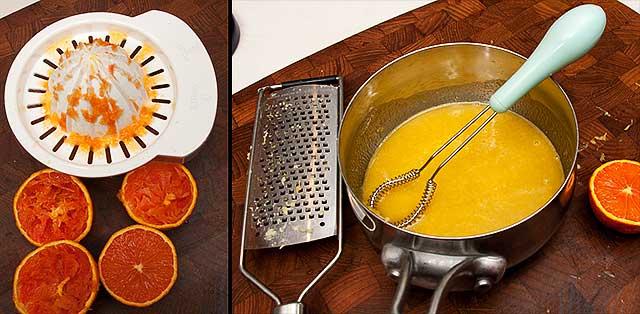 Orange juice mixture