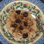 Irish Oatmeal with healthy toppings