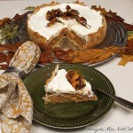 Pumpkin Pie with Salted Pecan Brittle