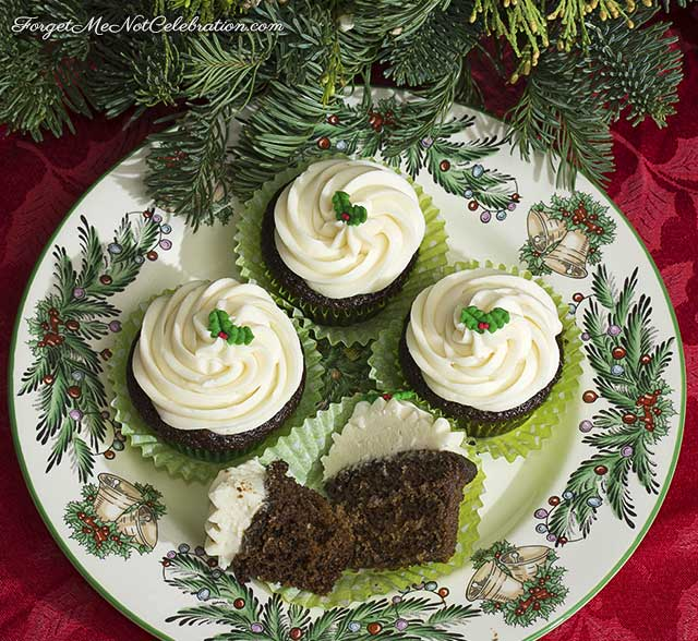 Gingerbread Guinness Cupcakes
