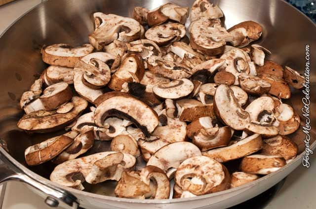 Mushrooms, sauteed
