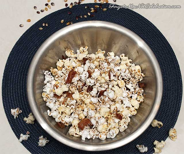 Maple Glazed Bacon Popcorn