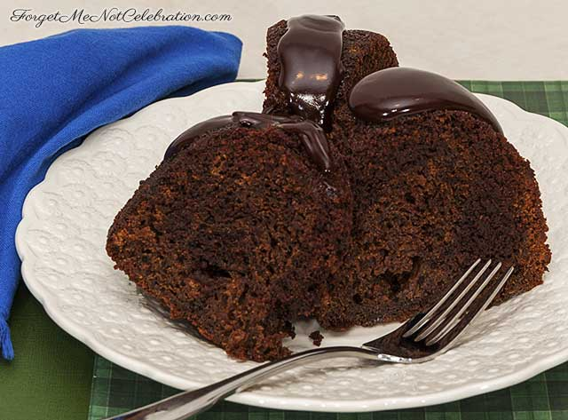 chocolate stout gingerbread cake