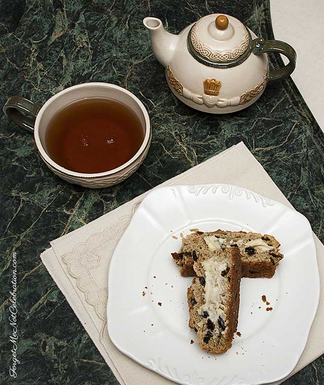 Gluten Free Soda Bread and tea