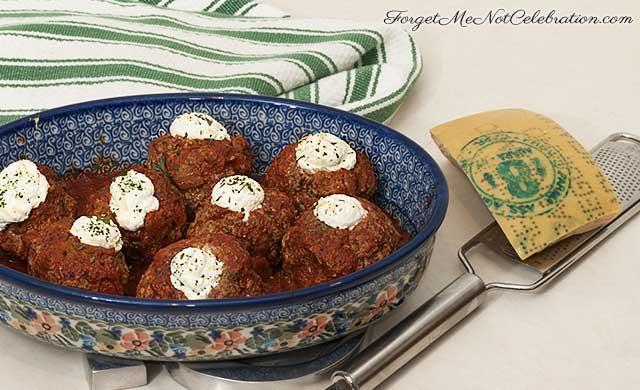 Ricotta-Filled Meatballs Recipes — Dishmaps
