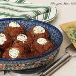 Ricotta Stuffed Meatballs