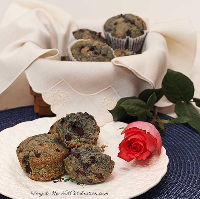 Blood Orange Chocolate Chunk Muffins