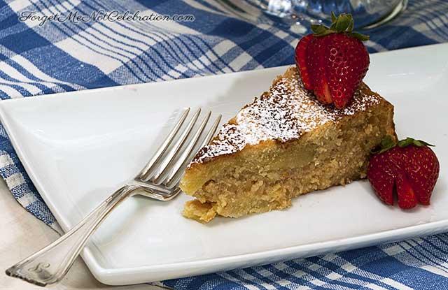 Neapolitan Ricotta cake