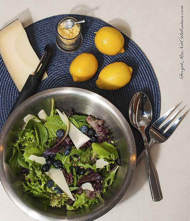 Lemon Blueberry Salad
