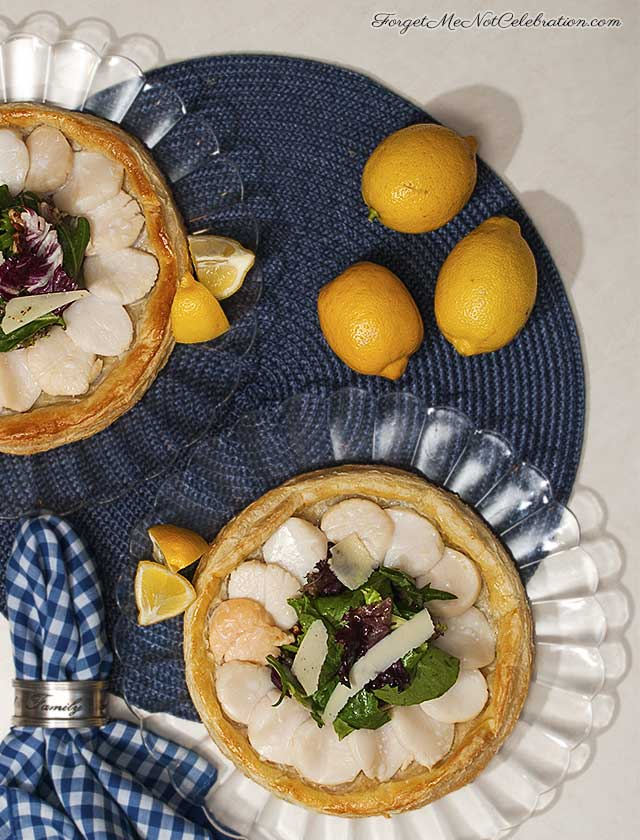 Fresh Scallop Tartlet