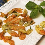 Fried Zucchini Flower blossoms