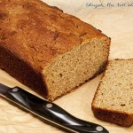 Swedish Rye Quick Bread Sliced