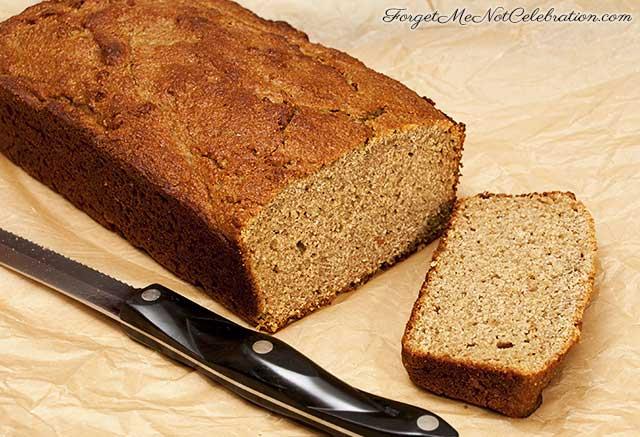 Swedish Rye Quick Bread Sliced